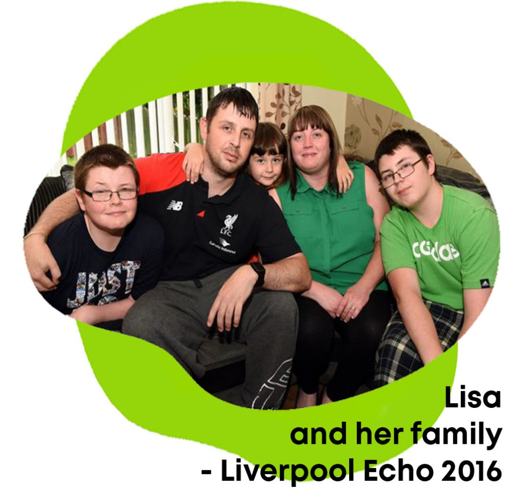 Lisa and family dealing with mitochondrial disease