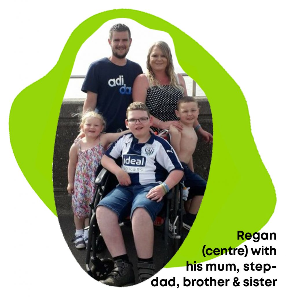 Regan and family dealing with mitochondrial disease