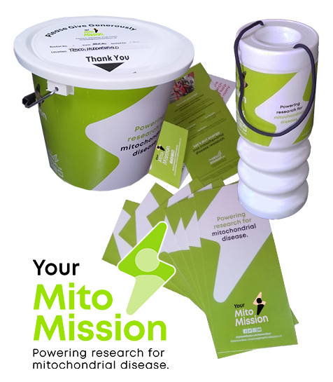 Raise awareness and funds by starting a Mito Mission