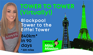 Brooke's Tower to Tower May20