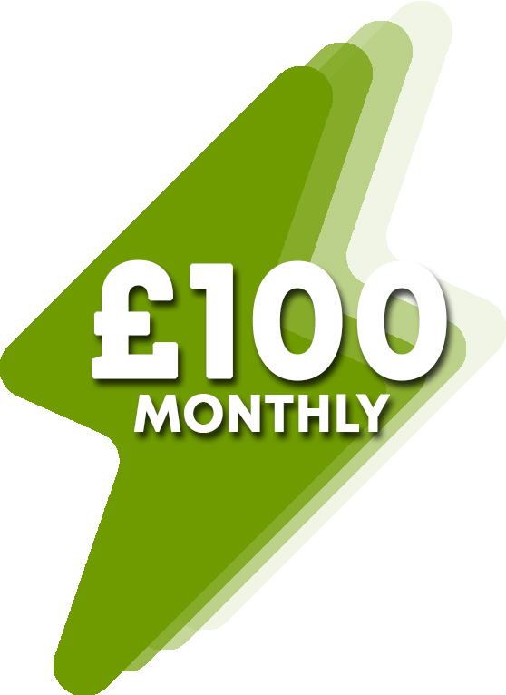£100 Monthly Donation