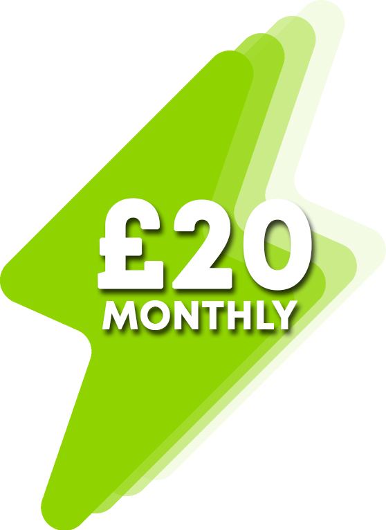 £20 Monthly Donation