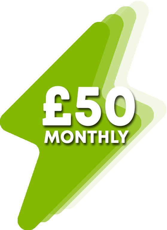 £50 Monthly Donation